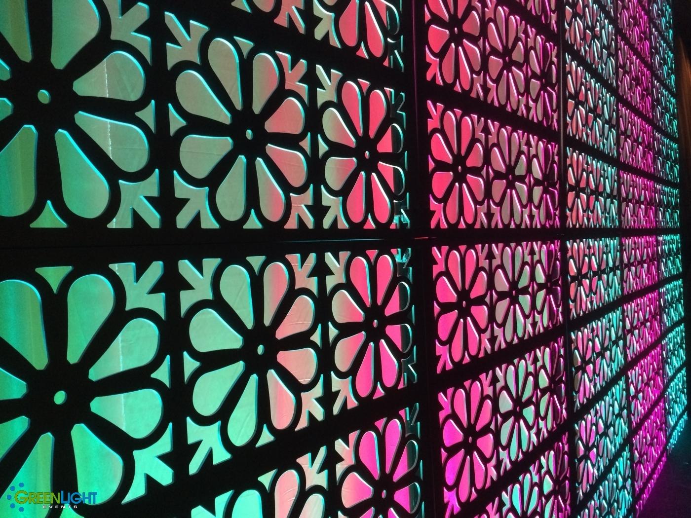 Custom backdrop at Tulalip Casino by GreenLight Events
