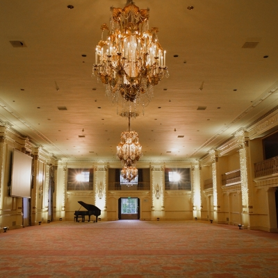 The Fairmont Olympic: the Spanish ballroom
