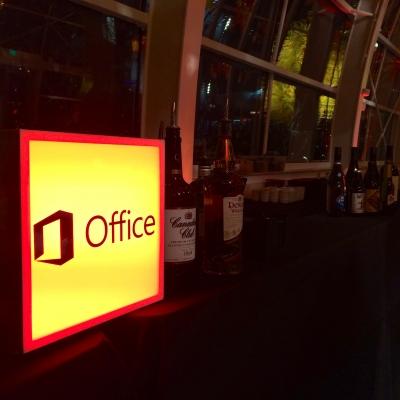 Custom Lightpad for Microsoft by GreenLight Events