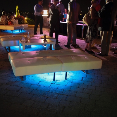 Custom Lightpad at Golf Club at Newcastle by GreenLight Events