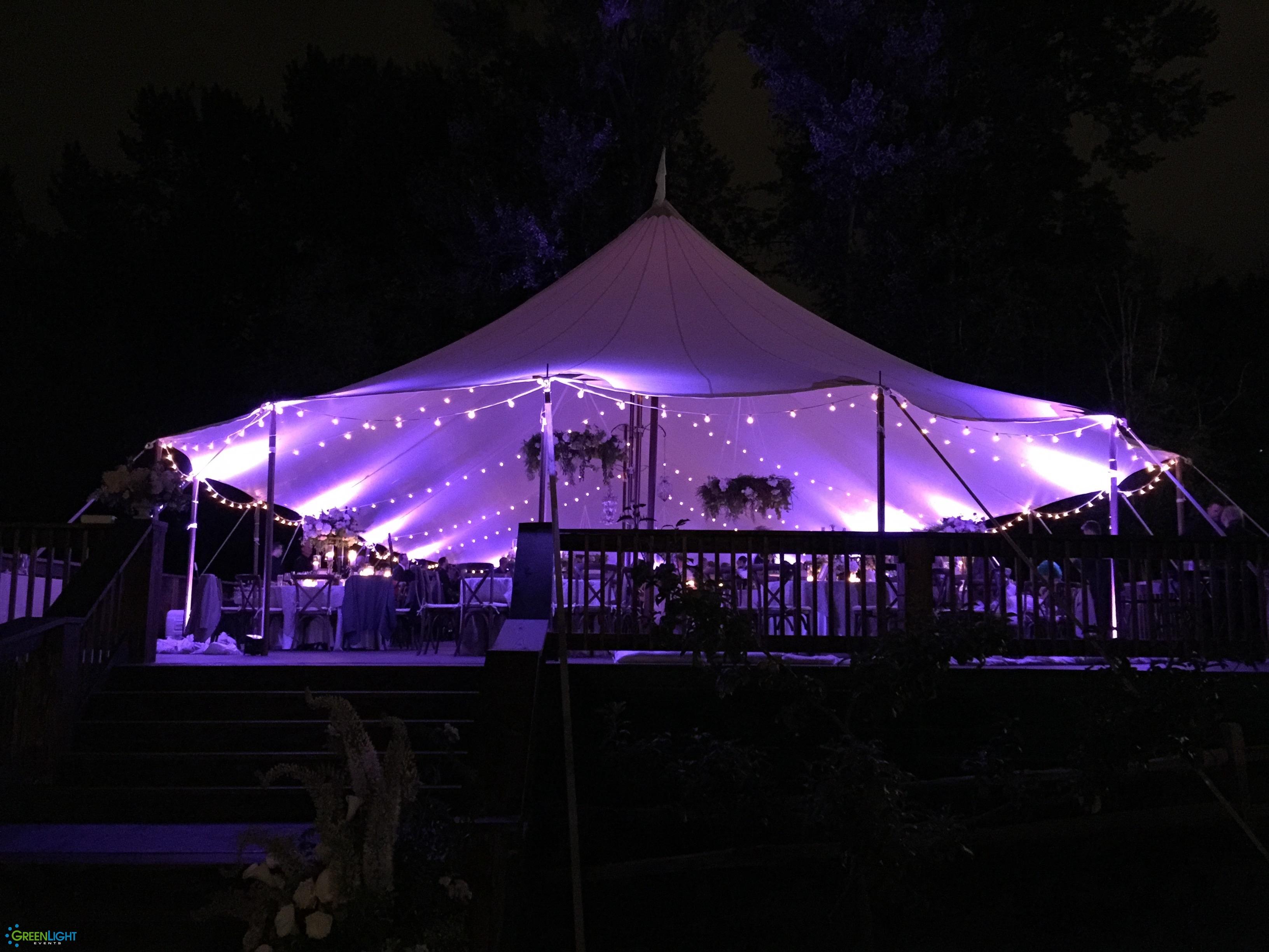 String lighting by GreenLight Events