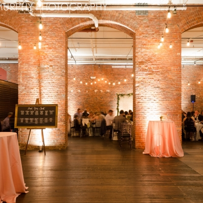 String lighting at Axis by GreenLight Events